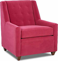 Klaussner Midtown Tufted Occasional Arm Chair - 12013377093