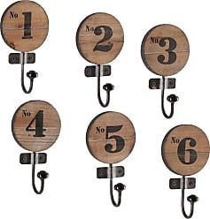 Southern Enterprises Tarryn 6 Piece Numbered Hook Set - HN1574-6