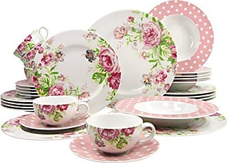 s/érie Lady Like 16 pi/èces Creatable 60689 20689 Multicolore Ensemble de Table
