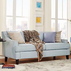 Weston Home Reagan Sofa Twilight Blue - 689993TBL3BSOFA