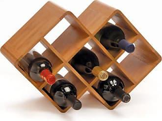 Oenophilia Bamboo Wine Rack   8 Bottle