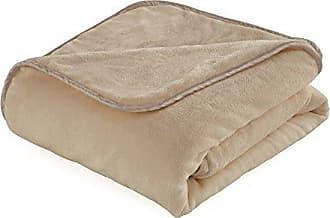 Westpoint Home Vellux Heavy Weight Throw Blanket, 54 x 72, Camel
