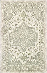 L.R. Resources Inc. LR Home MODTR81289SGG90C0 Modern Traditions Area Rug, 9 x 12, Sea Green/Grey