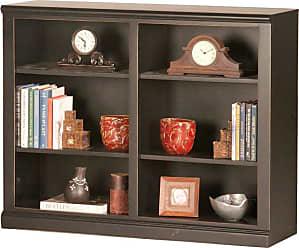Eagle Furniture Coastal Customizable 36 in. Double Wide Bookcase - 72836NGBK