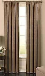 Ellery Homestyles BEAUTYREST Blackout Curtains for Bedroom - Barrou 52 x 95 Insulated Darkening Single Panel Rod Pocket Window Treatment Living Room, Taupe