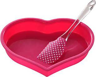 Premier Housewares 0805371 Vaschetta per Il Ghiaccio in Silicone e TPR Fuchsia