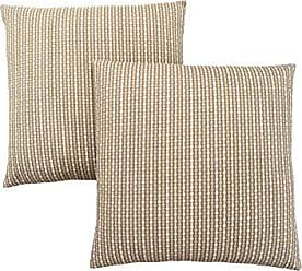 Monarch Specialties Monarch Abstract Dot 18 x 18 Light/Dark Taupe 2 Piece Pillow