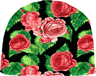 Jordan Manufacturing Company 18.5 x 18 Rounded Outdoor Chair Cushion, in Cabbage Rose