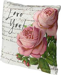 Kavka Designs Vintage Love You Accent Pillow - IDP-DI16-16X16-TEL8176