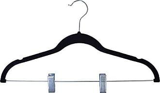 Ben&Jonah Ben & Jonah Ben&Jonah Velvet Anti-Slip Skirt Hangers-Black Collection, Multicolor