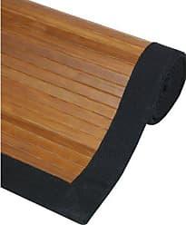 Oriental Furniture Bamboo Rug - Burnt Bamboo - 4 x 6
