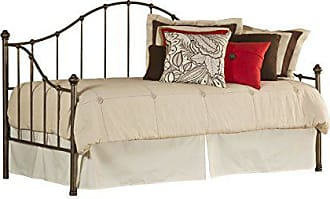 Hillsdale Furniture Furniture 1271DBLHTR Daybed with Suspension Deck and Roll-Out Trundle, Aged Steel