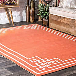 nuLOOM HJOA01B Casual Mattie Indoor/Outdoor Area Rug 8 x 10 Orange