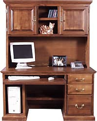Forest Designs Customizable Traditional 1062 Computer Desk - 1062-T