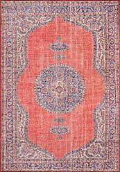 Momeni Rugs Momeni Rugs AFSHAAFS12RED2376 Afshar Traditional Medallion Area Rug x, 23 x 76 Runner, Red
