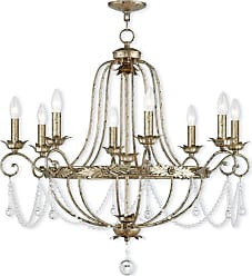 Livex Lighting 51958 Sophia 8 Light 32 Wide Candle Style Chandelier