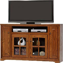 American Heartland 66 in. Oak Tall TV Stand - Assorted Finishes - 93863LT
