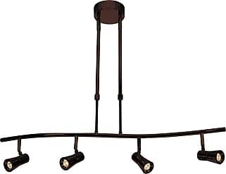 Access Lighting 63064LEDD Sleek 4 Light 33 Wide Brushed Steel Indoor