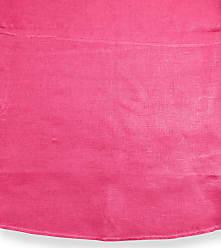 SFERRA Hemstitch Round Tablecloth, 90Dia