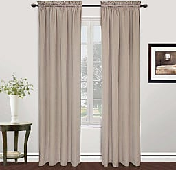 United Curtain Metro Woven Window Curtain Panel, 54 by 84-Inch, Natural