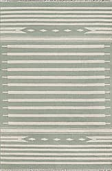 Momeni Rugs Erin Gates by Momeni Thompson Billings Light Green Hand Woven Wool Area Rug 5 X 76