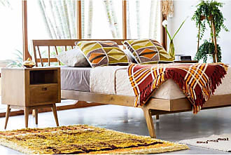 Harmonia Living Fifties Platform Bed, Size: King - HL-FIF-TK-DH-BD-EK