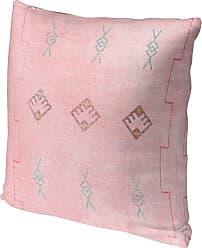 Kavka Designs Sidra Pink Accent Pillow - IDP-DI16-16X16-TEL8293