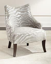 Haute House Home Lilia Animal-Print Chair