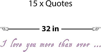 The Decal Guru I Love You Quote Wall Decal