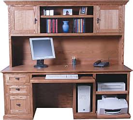 Forest Designs Customizable Mission Computer Desk - 1047-M