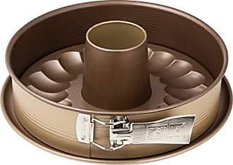 Zenker Springform Flach- und Rohrboden /Ø 26 cm Backform mit 2 B/öden Kuchenformen-Set mit Antihaftbeschichtung einfaches Entformen f/ür saftige Kuchen und Torten Menge: 1 St/ück