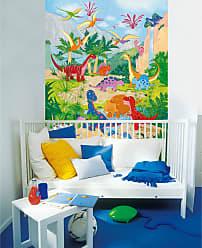 Ideal Decor Dino World Wall Mural - DM430