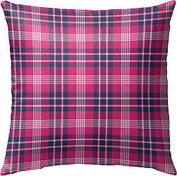 Kavka Designs Love Potion Pink Plaid Outdoor Pillow - OPI-OP16-16X16-NOR326