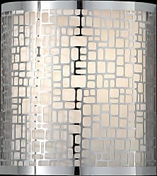 Feiss WB1564CH Joplin Wall Sconce in Chrome finish with Off White Linen