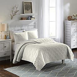Ellery Homestyles Vue 15974BEDDKNGIVY Atlantis 102-Inch by 90-Inch 3-Piece King Bedspread Set, Ivory