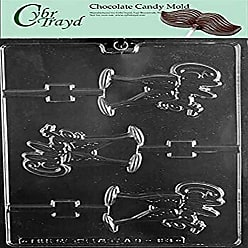 Life of the Party K176 Chocolate Mold Regular Clear