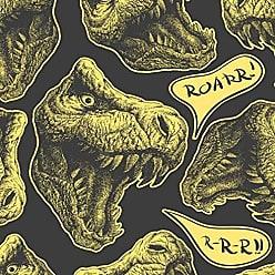 Lar Adesivos Papel de Parede Infantil Dinossauros Adesivo Menino N4099