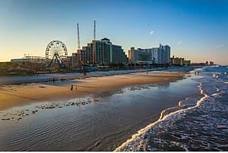 Noir Gallery View of Daytona Beach Florida on Canvas - DTFL-01-TW-08