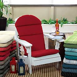 Belham Living Acrylic Adirondack Chair Cushion Graphite Gradated Stripe - AH1F130B-D9H1