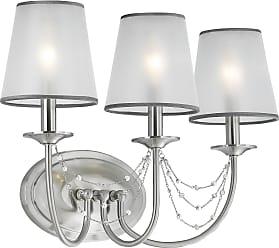 Feiss Aveline 3 Bulb Brushed Steel Vanity Strip