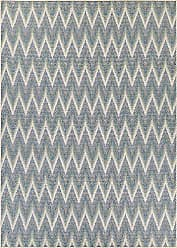 Couristan Monaco Collection Avila Rug, Ivory/Sand/Azure, 3 by 5-Feet