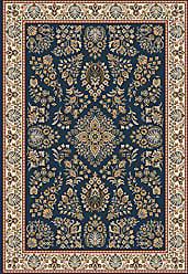 Milliken Carpet Pastiche Collection Halkara Square Area Rug, 77 x 77, Candle Blue