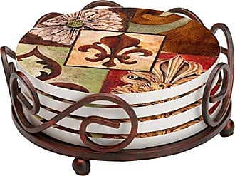 Thirstystone Stoneware Coaster Set, Gift Set, Facade II - HA60