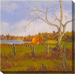 West of the Wind All-Weather Art Print, 24-Inch, Just Grazing