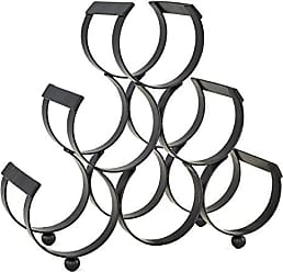 Old Dutch International 1332 6 Bottle Wine Rack, Black