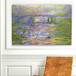 WEXFORD HOME Charing Cross Bridge Gallery Wrapped Canvas Wall Art, 24x36, Multicolor