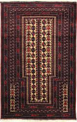 Nain Trading Handknotted Baluch Rug 411x18 Runner Dark Grey/Dark Brown (Wool, Afghanistan)