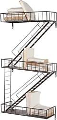Ashley Furniture Home Accents Fire Escape Wall Shelf, Silver Finish
