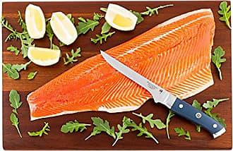 Restaurantware Sensei Blue - 6-inch Boning Knife - Durable Japanese VG-10 Steel - Professional Chefs Damascus Kitchen Knife - Stain Resistant - Restaurantware