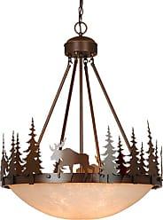 Vaxcel Lighting PD55624BBZ Yellowstone 4 Light 24 Wide Chandelier